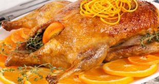 أسهل طريقه لعمل البط بالبرتقال اللذيذه فى 60 دقيقه